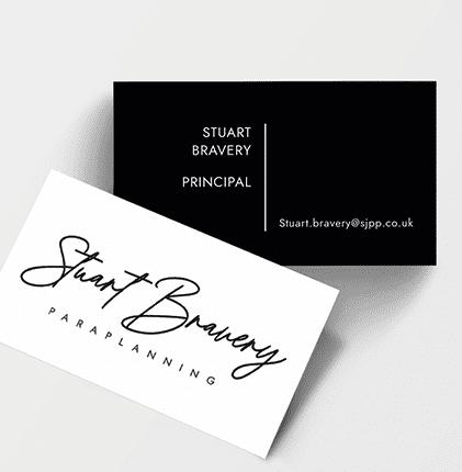 Stuart Bravery Card Design