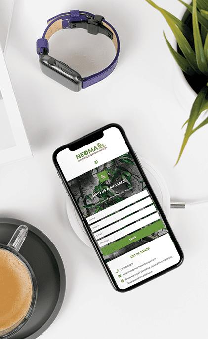 Neoma Mobile Website