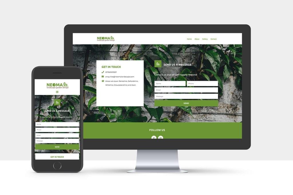 neoma website design
