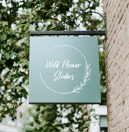 wild flower studios logo